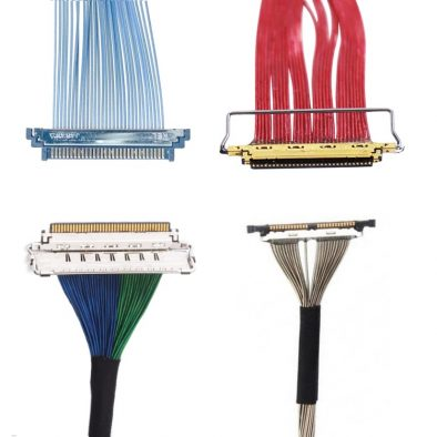 Micro coaxial LVDS cables