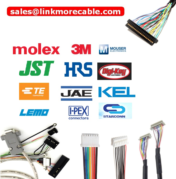 Molex Wire Harness JST Wiring Harness Hirose Crimping wire